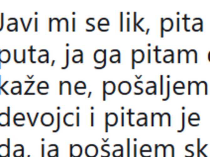 Udvarao joj se ZAUZET DEČKO, a onda je povukla DISKUTABILAN potez zbog kog se TVITER U SRBIJI USIJAO: Ljudi se masovno svađaju oko toga na ČIJOJ SU STRANI!