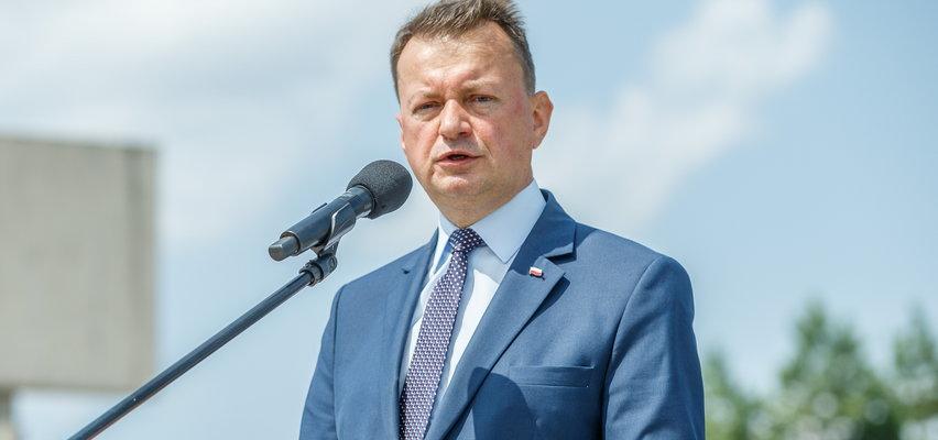 Błaszczak podjął ważną decyzję w sprawie żołnierzy strzegących granicy w Usnarzu Górnym