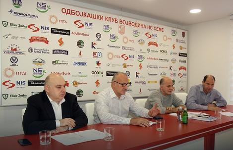Dragoljub Zbiljić jednoglasno je izabran za predsednika Upravnog odbora OK Vojvodina