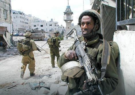 Izraelske snage tokom Druge intifade