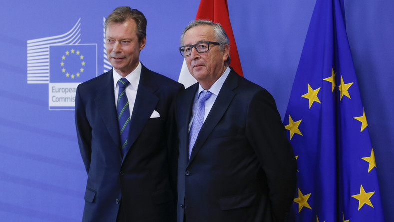 Jean-Claude Juncker i Henri, wielki książę Luksemburga