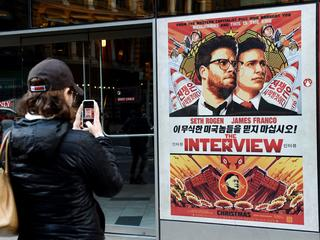 "Plakat promujący film ""The Interview"""