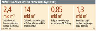 Zakłady chemiczne poszukują własnych źródeł dostaw gazu