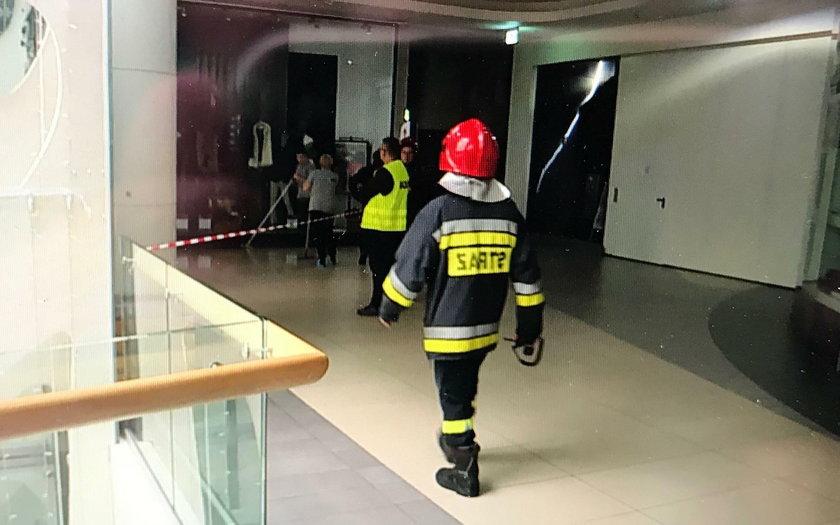 Sufit spadł na klientów w Galerii Rzeszów