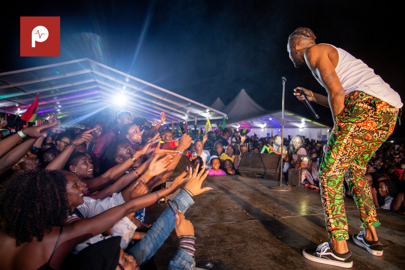 Jamaican dancehall star Konshens brings Nairobi to standstill with electrifying performance (Pulse Live Kenya)