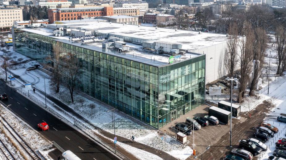 W łódzkiej hali Expo funkcjonuje obecnie szpital tymczasowy