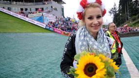 Ewa Bilan-Stoch kibicowała polskim skoczkom