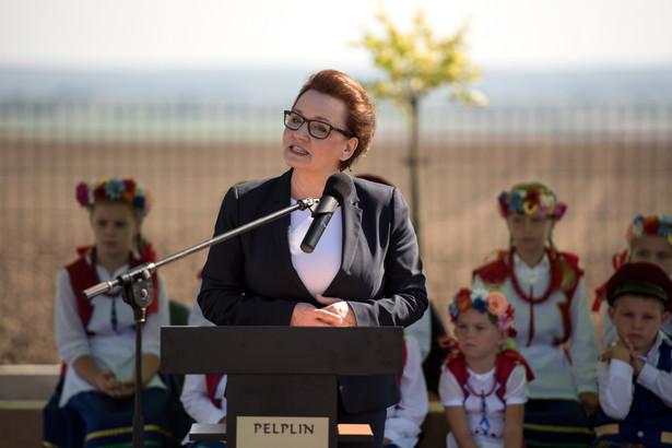 Minister edukacji Anna Zalewska, PAP/Roman Jocher