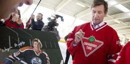 Wnuk Wayne Gretzky'ego pójdzie w jego ślady? WIDEO