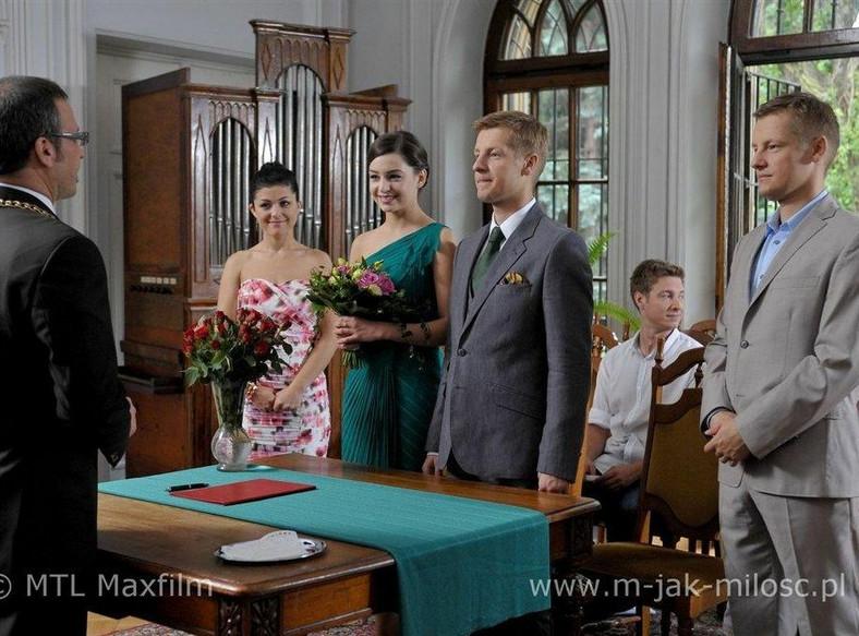 """Ślub w """"M jak miłość"""""""
