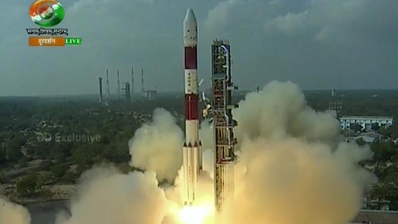Indie wystrzeliły jednorazowo 104 satelity