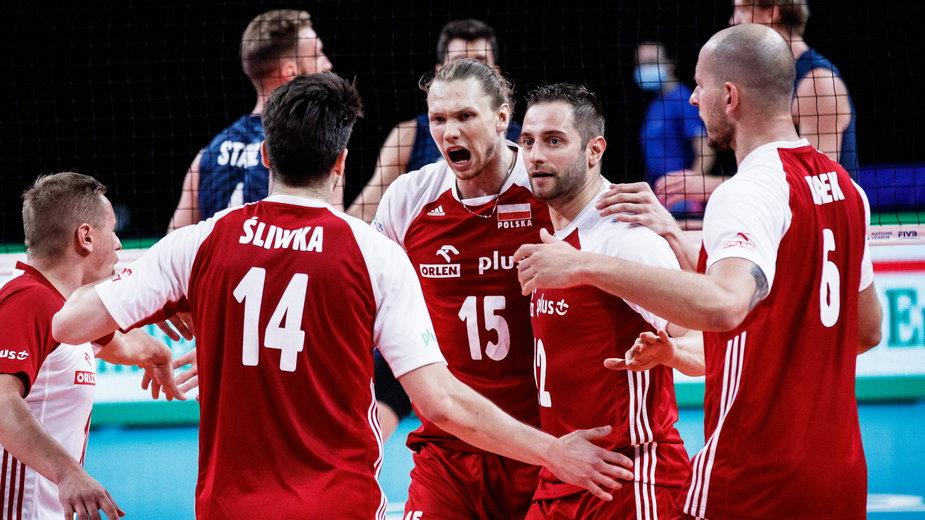 Reprezentacja Polski w meczu z USA