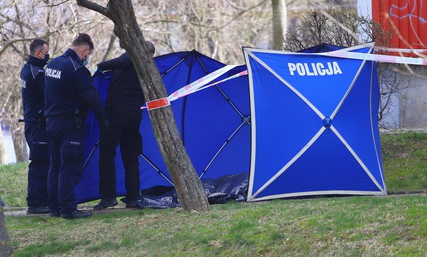 57-latka wypadła z balkonu na ul. Przedwiośnie w Lublinie.