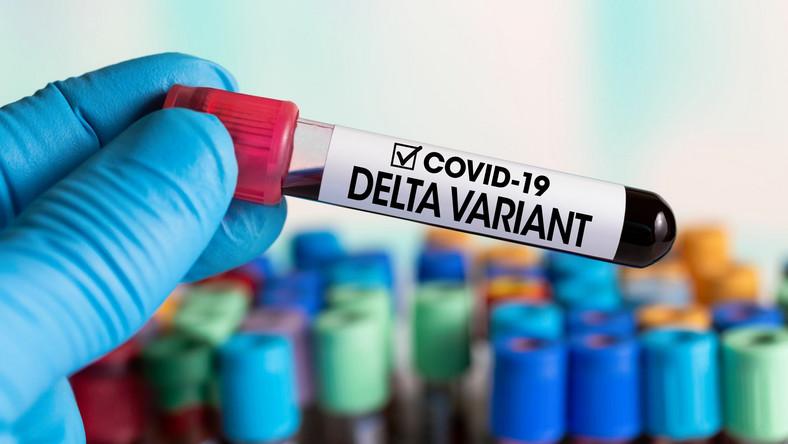 Covid 19 Wariant Delta koronawirus