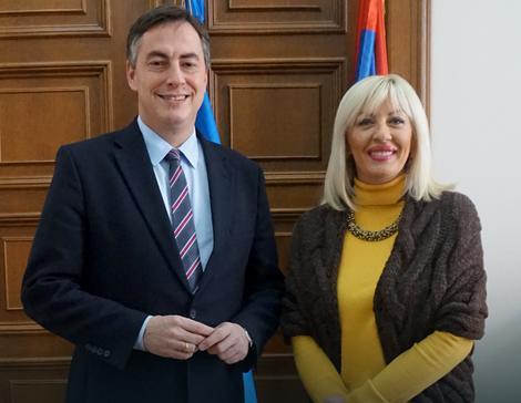 Dejvid Mekalister i Jadranka Joksimović