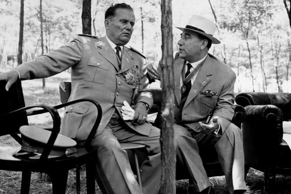 Tito i Ranković u Užicu