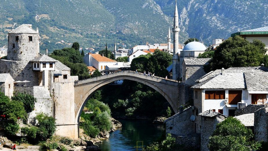 """""""Stary Most"""" w Mostarze"""