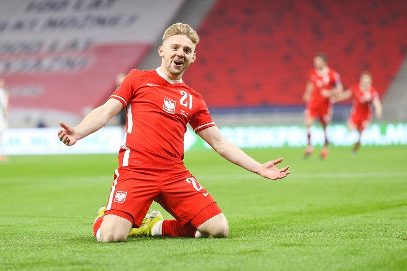 W ostatnich meczach reprezentacji, Jóźwiak pokazał się z bardzo dobrej strony.