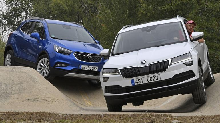 Skoda Karoq kontra Opel Mokka X - który kompaktowy SUV będzie lepszym wyborem?