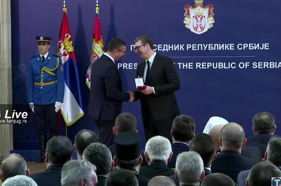 Dodela priznanja Slavoljubu Stojadinoviću