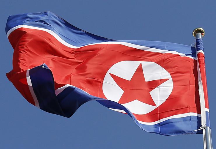 severna koreja zastava