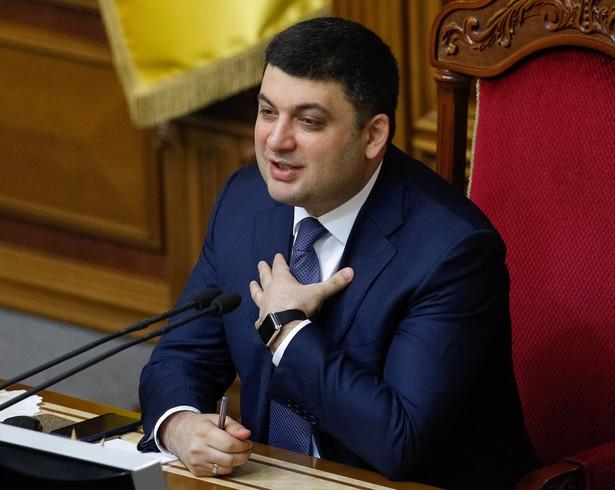 W czwartek premierem został 38-letni kandydat Bloku Petra Poroszenki (BPP) Wołodymyr Hrojsman