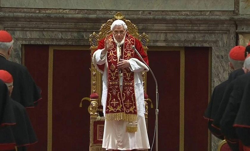 Tak żegna się papież