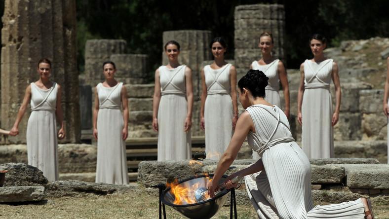 Londyn 2012: Wzniecono olimpijski ogień