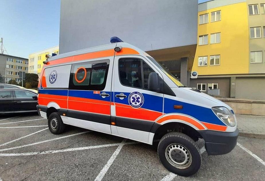 Karetka medyczna pojedzie na Ukrainę