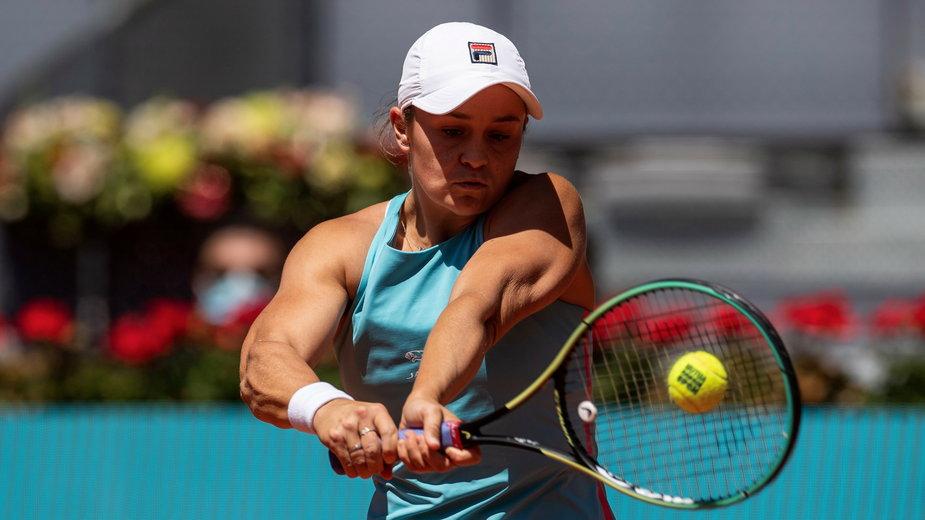 epa09180880 - SPAIN TENNIS MADRID OPEN (Madrid Open tennis tournament)