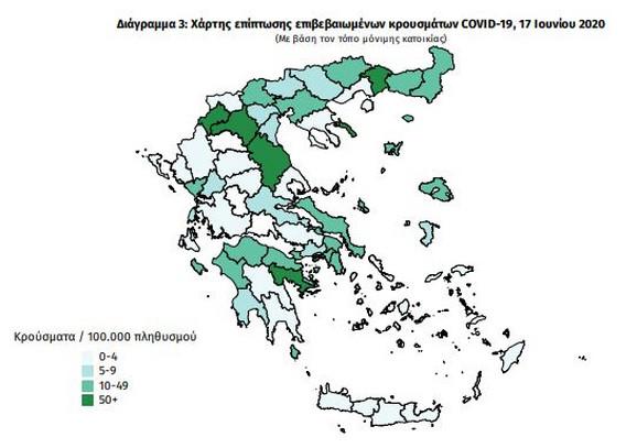 Korona u Grčkoj