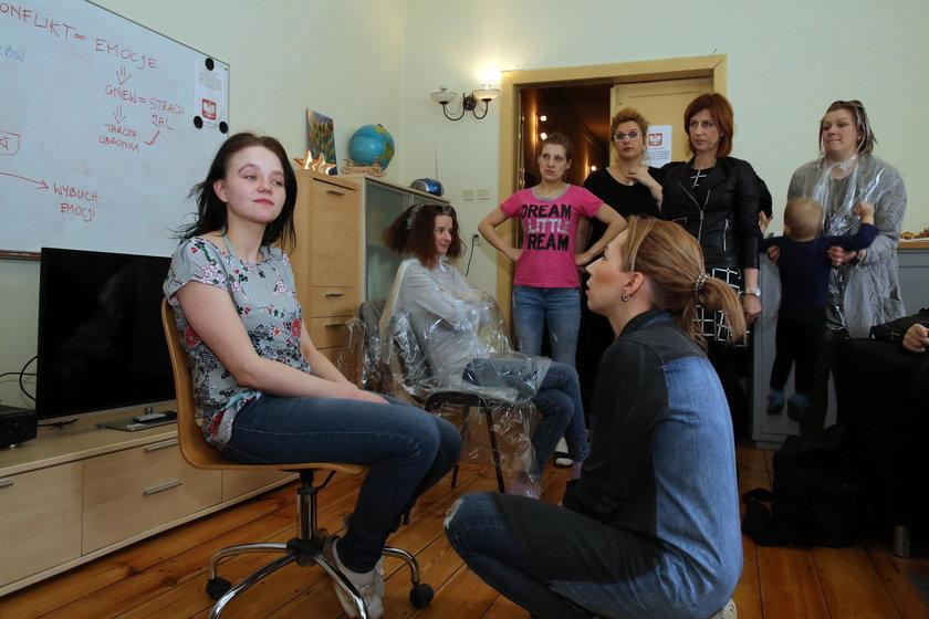Metamorfozy kobiet w Specjalistycznym Ośrodku Wsparcia w Łodzi
