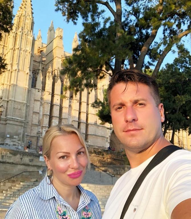 Ivana Selakov i Peđa Mirković