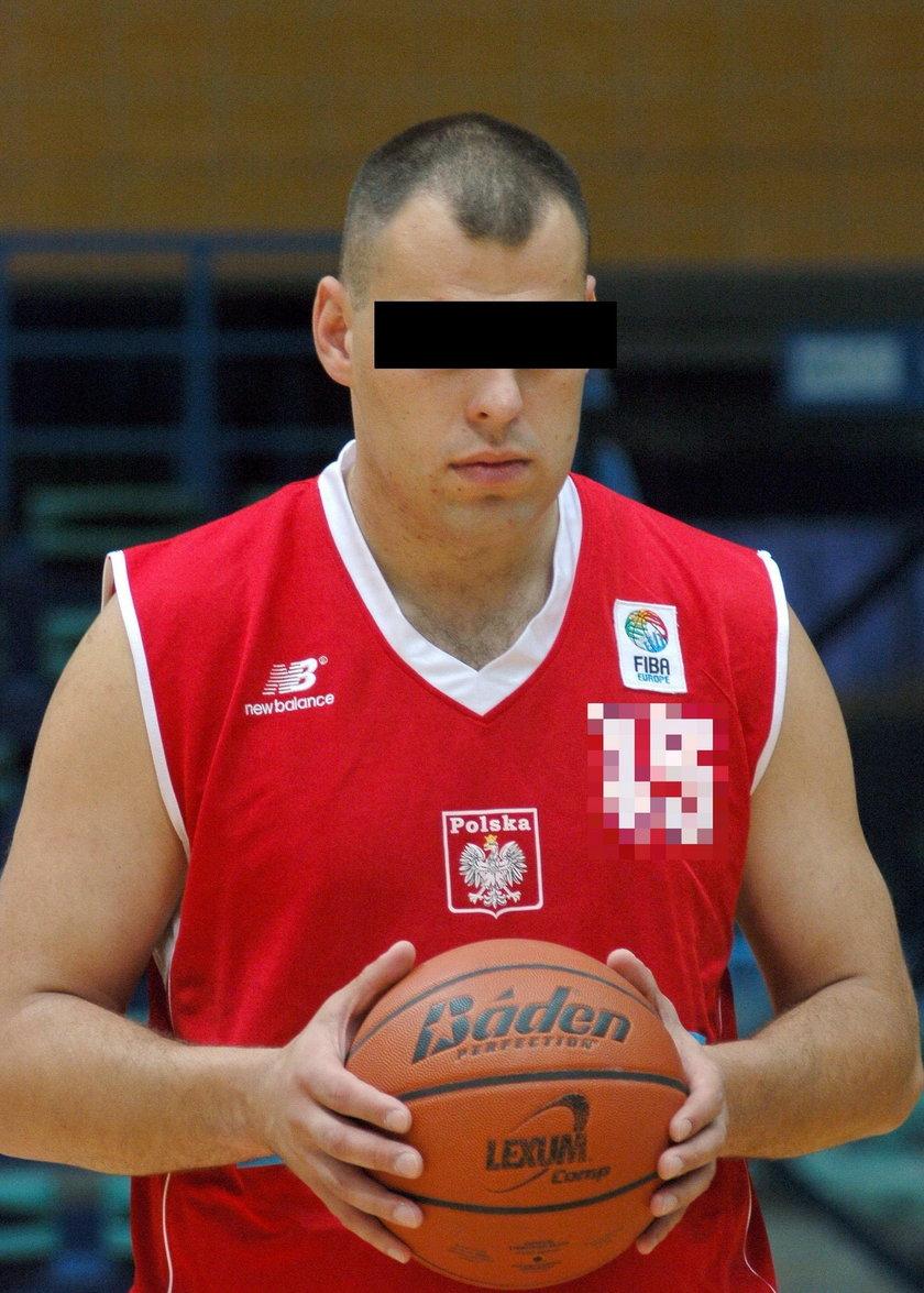 Kordian K. znany koszykarz