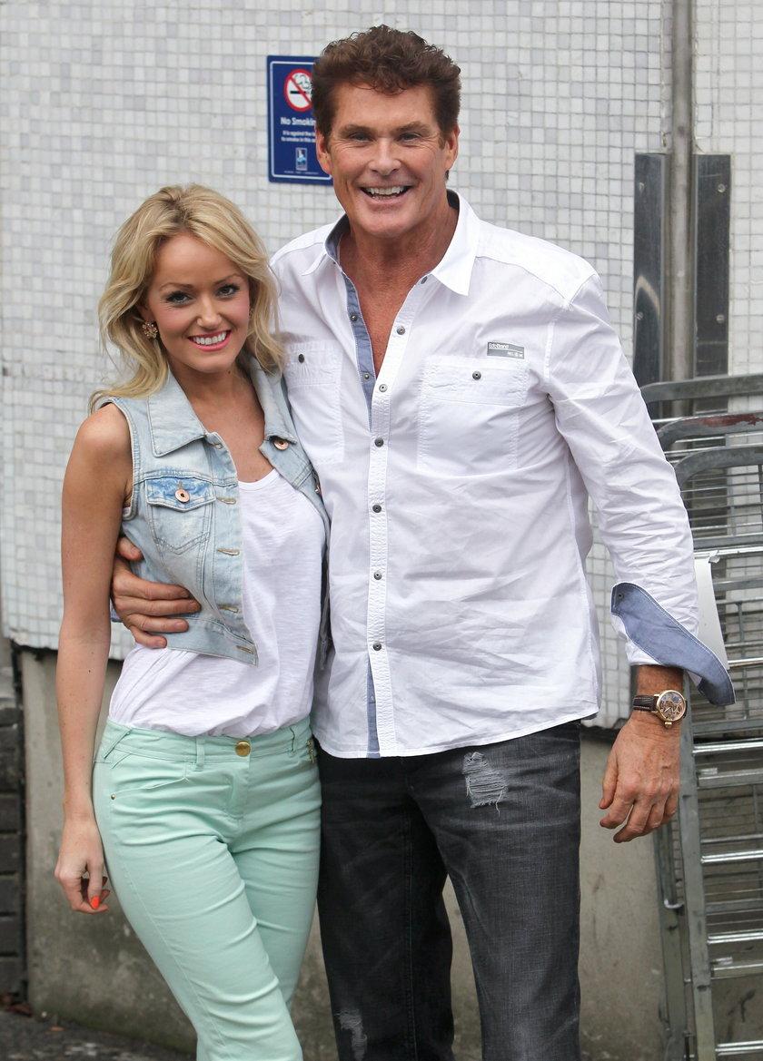 David Hasselhoff z dziewczyną