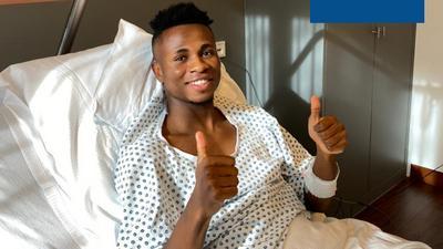 Super Eagles star Samuel Chukwueze undergoes surgery for a groin injury