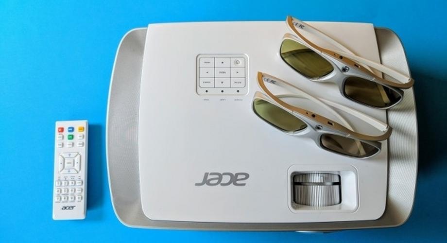 Test Acer H7550ST: Viel Beamer fürs Geld
