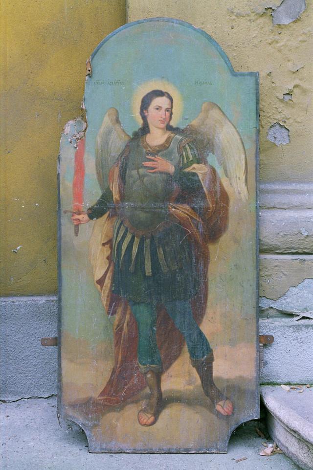 Sveti Arhangel Mihailo: Centralna ikona visoka je skoro tri metra i sačuvana je