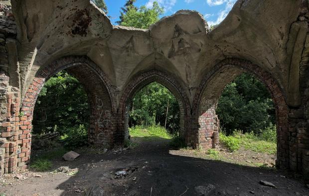 Ruiny Wieży Quistorpa w Szczecinie