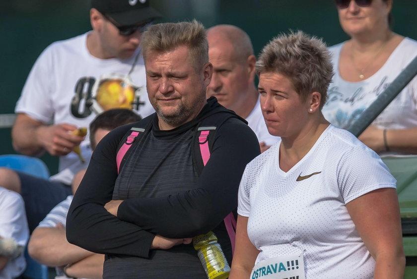 Anita Włodarczyk i Krzysztof Kaliszewski