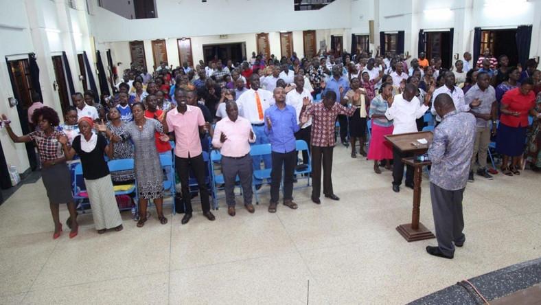 Former Neno Evangelism Bishop Robert Wafula Opens own church