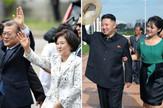 Mun Džae in i Kim Jung Suk  i Kim Džong Un i Ri Sol Ju