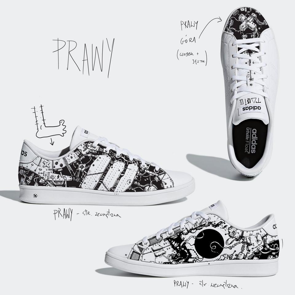 931f32476e282 Takie Pany spersonalizowali buty od adidas w ramach projektu Sneaker ...