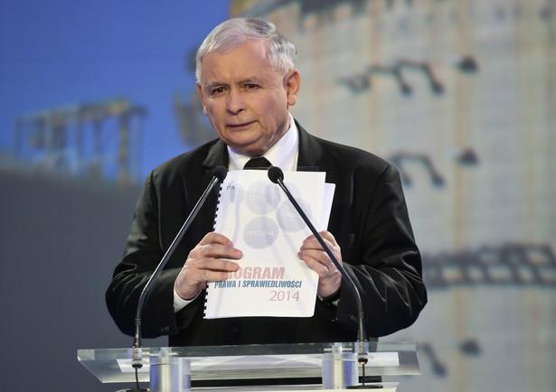 Jarosław Kaczyński podczas konferencji prasowej nt. bezpieczeństwa energetycznego Polski. Fot. PAP/Rafał Guz