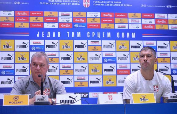 Ljubiša Tumbaković i Aleksandar Kolarov