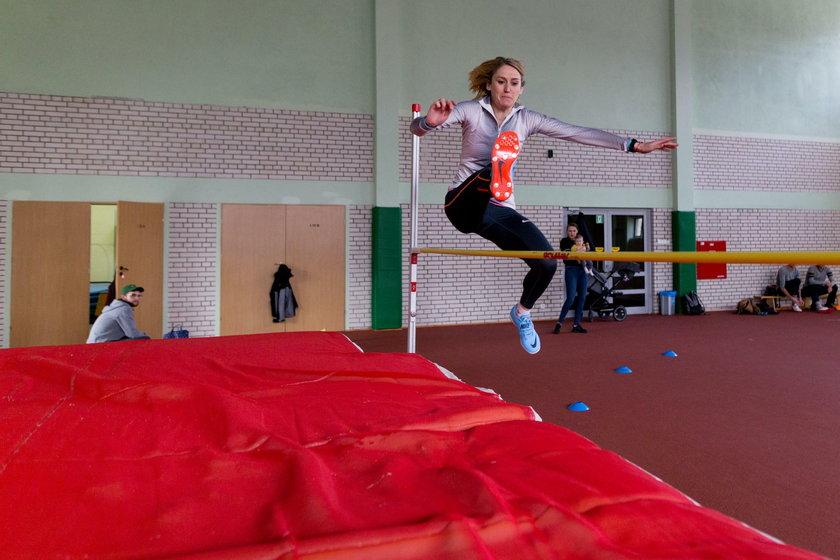 Lekkoatletyka. Trening i sesja Kamili Licwinko. 13.04.2019