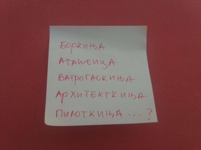 Ovaj profesor srpskog jezika ima nešto da vam kaže o vatrogaskinjama, arhitektkinjama i ostalima -kinjama
