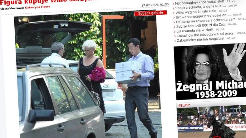Kasia Figura kupiła wino za ponad 1500 zł
