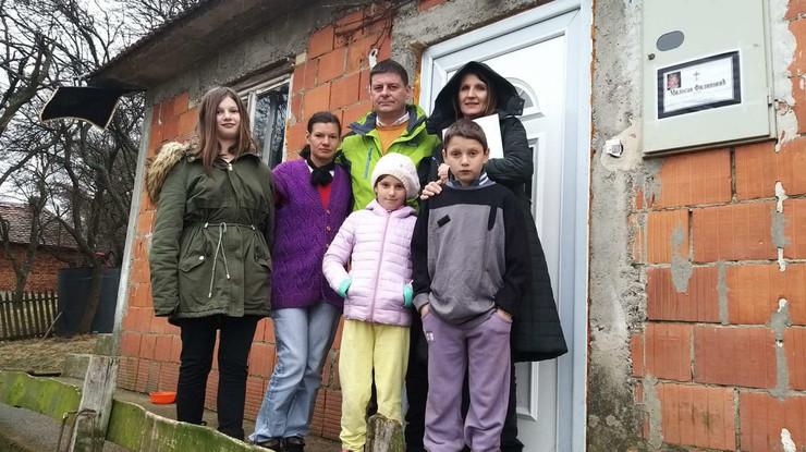 Porodica Filipović, Bajina Bašta, ustupljen stan