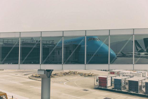 Test klasy biznes, KLM 747